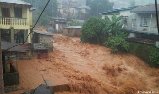 Mudslide in Siera Leone Photo