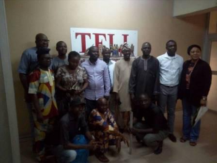 Akinreti, Lagos NUJ Aspirant, Visits TELL Photo