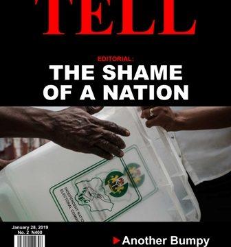 TELL Magazine Cover Design Photo