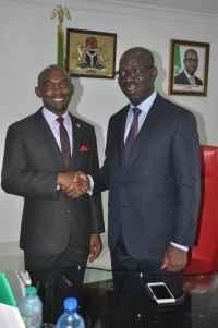Francis Taiwo Akerele and Godwin Obaseki Photo