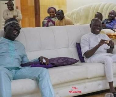 Obaseki and Oshiomhole Photo