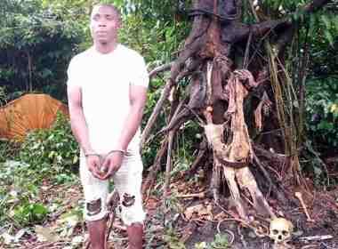 Osondu and the Carcass of Ereba Photo