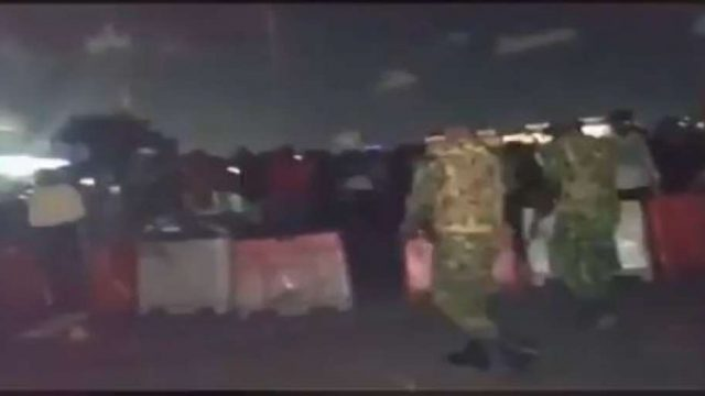 Lekki Toll Gate Violent Photo