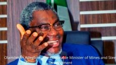 Olamilekan Adegbite, The Honorable Minister of Mines and Steel Development photo