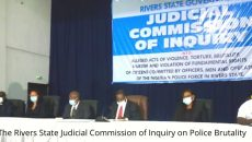 The Rivers State Judicial Commission of Inquiry on Police Brutality Photo