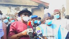 Rivers State governor, Nyesom Wike Photo