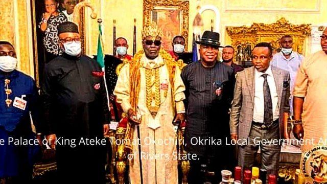 The Palace of King Ateke Tomat Okochiri, Okrika Local Government Area of Rivers State. Photo