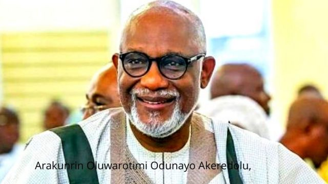 Arakunrin Oluwarotimi Odunayo Akeredolu, Photo