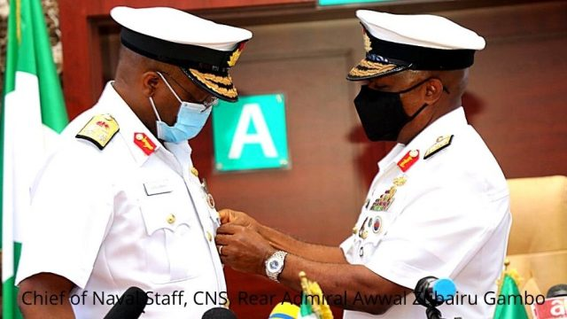 Chief of Naval Staff, CNS, Rear Admiral Awwal Zubairu Gambo Photo