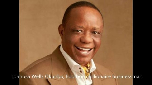 Idahosa Wells Okunbo, Edo-born billionaire businessman Photo