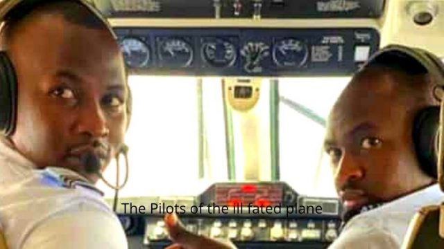 The Pilots of the ill fated plane Photo