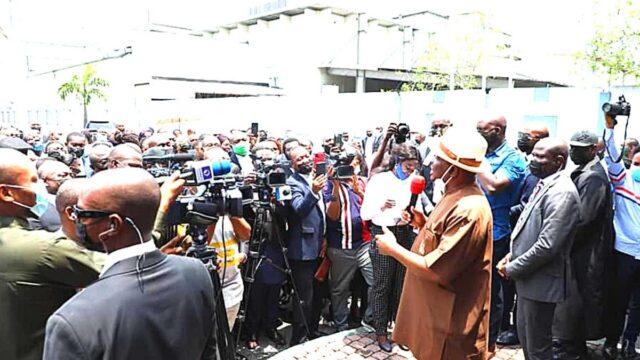 Nyesom Wike addressing the Lawyers photo
