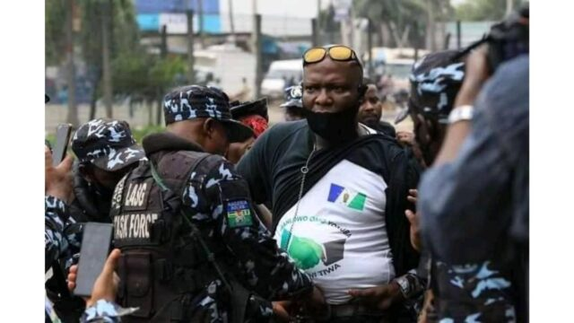 Oodua Nation Protester Photo