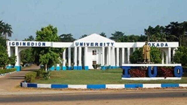 igbinedion university entrance gate