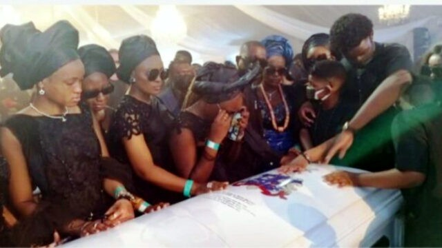Tearful Farewell, Eulogies, As Captain Hosa Okunbo Goes Home in Blaze of Glory…