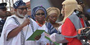 Akeredolu's Emergence To Boost Southwest Unity- Amosun