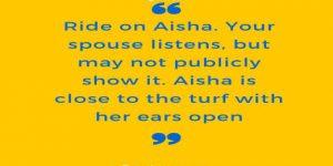 Aisha Is An Asset