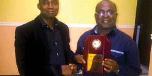 Honours for a Veteran PR Man