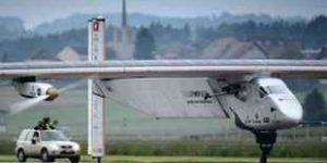 Groundbreaking Solar Plane Begins Global Flight